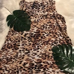 W118 by Walter Baker Animal print tank top.